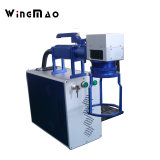 Máquina automática de la marca del laser de la fibra de la alta precisión para el neumático del tubo de PVC/PPR/HDPE