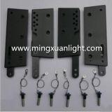 Zeile Reihe mit Aluminiumabstecken-Teilen für PA-Lautsprecher