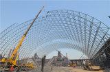 Edifícios de aço pré-fabricados do arco da alta qualidade