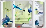 Decorative Famous Wall Modern Cartoon 3D Paintings WPC Wall Panel