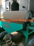 Alta eficiencia de polvo de hierro de tambor húmedo separador magnético de tambor húmedo, separador de polvo de hierro, mineral de alta eficiencia separador magnético giratorio con bajo consumo