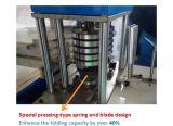 Hochgeschwindigkeitsprägenserviette-Serviette-faltende Papiermaschine