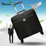 Business Trolley de cuero de equipaje Equipaje de viajes Bolsa de equipaje Equipaje de la capa de portátil