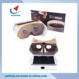 Flat Packing Portable와 Foldable Custom Google Cardboard V3.0에 있는 가장 새로운 3D Vr Glasses