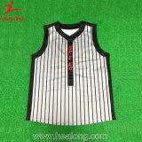 Basebol superior Jersey da impressão de Digital do Sportswear da venda de Healong