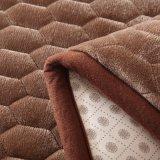 極度の柔らかいフランネルファブリック女王のマットレスのカバーのベッドの上層