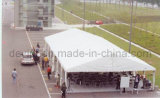10x25m 150 peuples une forme d'aluminium en PVC blanc tente tente de l'événement