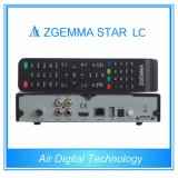 Updated 새로운 DVB-C One Tuner Zgemma Star LC Full HD 1080P Linux OS E2 토요일 Receiver Upgraded Zgemma Star H1