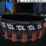 Top de Qualidade Europeia P4.8 Display LED curvo de aluguer para interior