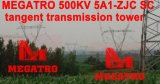Torretta della trasmissione di tangente dello Sc di Megatro 500kv 5A1-Zjc
