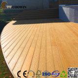 Анти--UV 3D деревянный Decking текстуры WPC пластичный составной