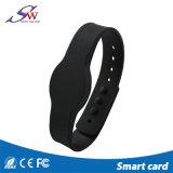 Braccialetto programmabile Em4305 del silicone di Lf 125kHz RFID del Wristband