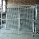 6FT X 12FT /4FT X 12FT 8FT X 12 FT 12.5 Ga Chain Link Mesh 57mm X 57mm Temp Chain Link Fence