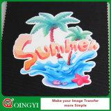 Vente en gros de Qingyi de vinyle imprimable de transfert thermique de couleur foncée