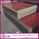 Leichte Wärme-Kalte Isolierungs-wasserdichtes Polyurethan-Zwischenlage-Panel PU-Panel für kalte Roon sauberer Raum-Wände