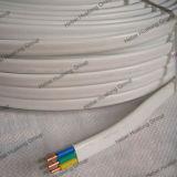 H03VVH2-F Conducteur en cuivre flexible isolant en PVC et le câble sous gaine