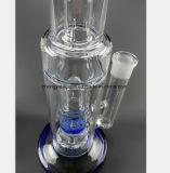 15.75 Zoll-blaues Glasbienenwabe-Filter-Glas-Rohr Wiederverwertung