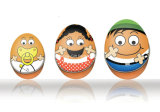 卵のギフトキャンデーの錫ボックス包装(E001-V3)