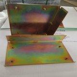 OEM feuille de métal de précision de fabrication de la partie de flexion de découpe laser