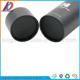 Comercio al por mayor negro tubo de papel de impresión personalizada