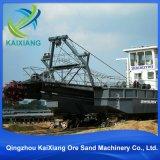 高性能の砂の浚渫船のボートか金の吸引の浚渫機のボートまたは川の砂