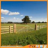 Cancello rurale galvanizzato dell'azienda agricola di soggiorno del metallo V