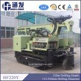 Piattaforma di produzione montata cingolo idraulico del pozzo d'acqua di Hf220y