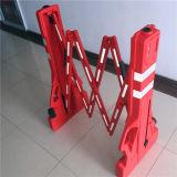 拡張可能交通安全のバリケード/折るトラフィックの道の障壁