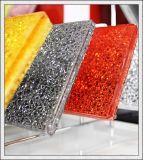 As partes pequenas cancelam/vidros laminadas Tempered coloridas de 300X300mm