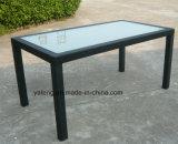 Трактир мебели дешевого PE-Ротанга высокого качества цены напольного UV-Упорного алюминиевый установил Стулом и таблицей (YT003)