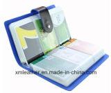 2016 suportes de cartão Handmade da carteira do couro genuíno/caso