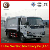 Isuzu 5mt、5 Ton Compressed Garbage Truck