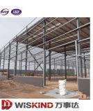 가벼운 강철 구조물 건물 조립식 구조상 작업장