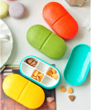 Kreatives Cute Travel Vitamin und Pills Box (54091)
