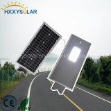 운동 측정기 12W의 알루미늄 태양 LED 가로등