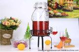 портативный стеклянный электрический разливочный автомат напитка 3.5L с воздухонепроницаемыми стеклянными крышкой и краном