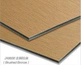 Aludong- почистило пользу щеткой панели серии алюминиевую составную для нутряного и внешнего украшения