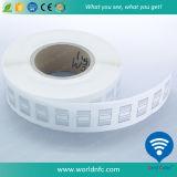 De la alta calidad del precio etiqueta engomada reescribible larga imprimible de la frecuencia ultraelevada RFID de la voz pasiva del extranjero H3 del rango del espacio en blanco barato