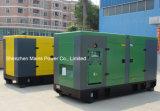 250kVA 200kw Reservekinetik-BRITISCHER Motor-schalldichter Dieselgenerator