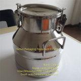 15 Container van de Opslag van de Ruwe Melk van het Roestvrij staal van de liter de Luchtdichte
