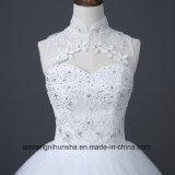 Chinesisches einfaches Halter-Hochzeits-Kleid des Kleides der Prinzessin-Hochzeit