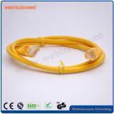Кабель UTP CAT5e Patch шнур желтый цвет сетевой шнур исправлений