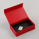 Rectángulos de regalo de papel de encargo que empaquetan el rectángulo de almacenaje al por mayor de la cartulina