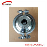 Control de la válvula de acero inoxidable 316 Sanitaria Blocado