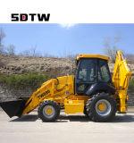 Nuovo escavatore dell'escavatore a cucchiaia rovescia del trattore 2018 prefabbricato in Cina