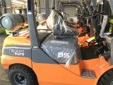 新しい一人乗り二輪馬車のElevateur 3.5tのプロパンのフォークリフトMontacargas