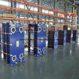 Tipo Calor-Cambiador de la placa de Gasketed del refrigerador de placa del agua de la fuente equivalente a la alfa Laval