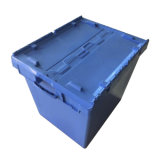 750*570*625mmの熱い販売の記憶のロジスティクスのプラスチックによって接続されるふたの容器