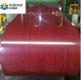 Materiais de revestimentos betumados PPGI revestido de cor com padrão de madeira