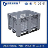 Caixa de pálete plástica do transporte do armazenamento da alta qualidade de 1200*1000 China